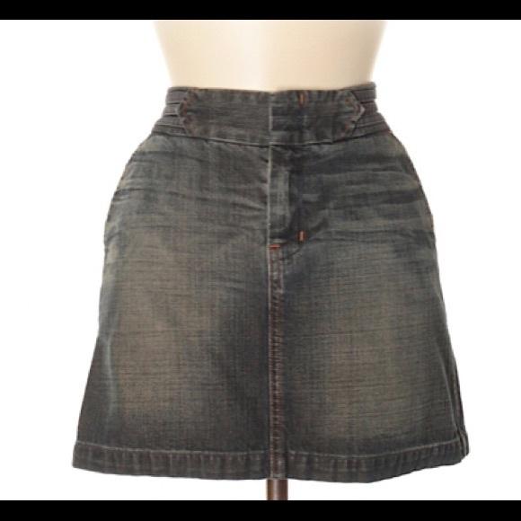7 For All Mankind Dresses & Skirts - 7 For All Mankind Denim Skirt